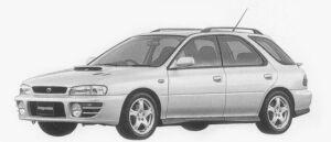 Subaru Impreza SPORTS WAGON WRX 1996 г.