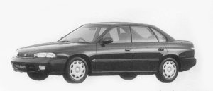 Subaru Legacy TOURING SEDAN TX TYPE S 1996 г.