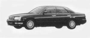 Nissan Cedric V30E BRAUHAM-LV 1996 г.