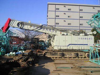 Кран гусеничный KOBELCO TK550 2002 года в Японии