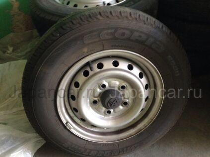 Летниe колеса Dunlop 165/80 13 дюймов Japan новые в Уссурийске