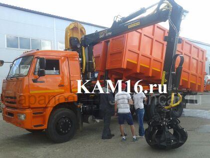 Грузовик с крановой установкой КАМАЗ 65115 Ломовоз 2020 года в Набережных Челнах