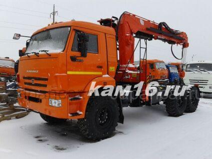 Тягач КАМАЗ 43118 с кму Kanglim KS 2056Н 2020 года в Набережных Челнах