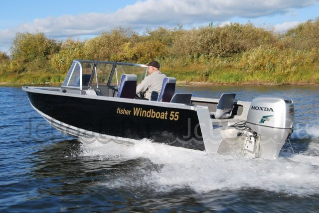 катер WINDBOAT 55 FISHER 2018 года