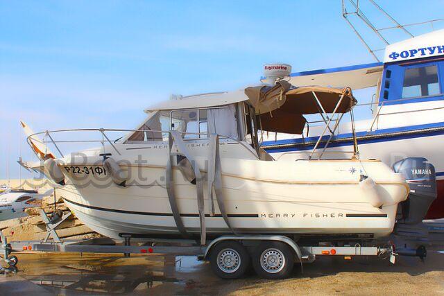 катер JEANNEAU MERRY FISHER 725 2011 года