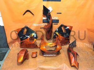 Разный пластик на KAWASAKI zxr250, оранжевый-чё
