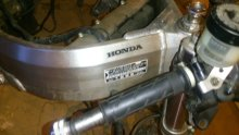 спортбайк HONDA CBR 919 RR VFR750