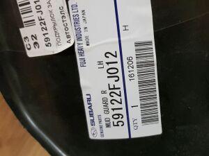 Подкрылок на Subaru XV GP