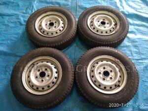 Шины Bridgestone Blizzak VL1 0/-R13LT зимние на дисках Toyota железные R13
