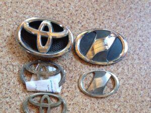 Эмблема на Toyota Vitz NCP95, KSP90, NCP91, SCP90