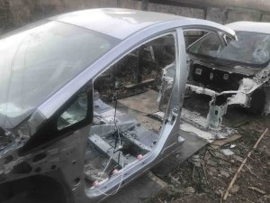 Порог на Toyota Prius ZVW30 2ZRFXE