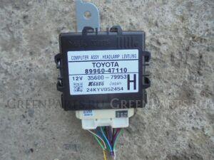 Электронный блок на Toyota Prius ZVW30 2ZR-FXE 89960-47110