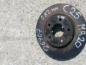 Тормозной диск на Nissan Serena C25 MR20DE 40015CY000, 40202EN010, 40202JG01A, 40206CY00A