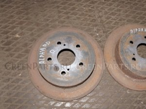 Тормозной диск на Toyota Alphard MNH15W 1MZ-FE