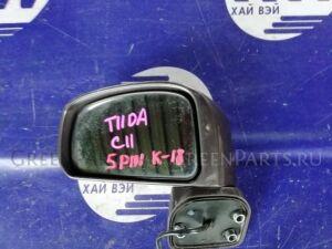 Зеркало на Nissan Tiida C11 HR15