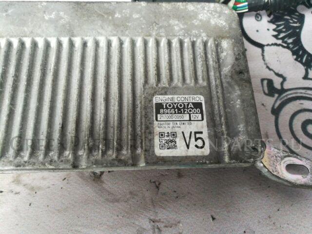Блок управления efi на Toyota Corolla Fielder NKE165 1NZ-FXE 89661 12Q00