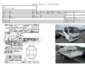 Рессора на Mazda Titan LLR85 4JJ1
