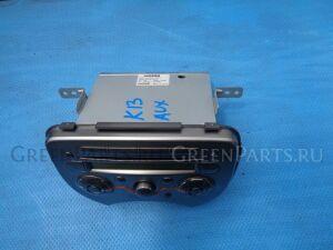 Магнитофон на Nissan March K13
