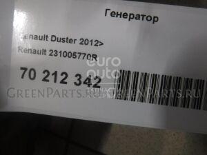 Генератор на Renault Duster 2012- 231005770r