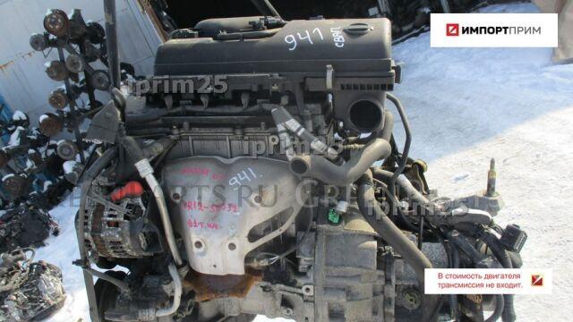 Двигатель на Nissan March AK12 CR12DE CR12-335031
