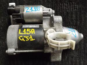 Стартер на Honda Airwave GJ1 L15A 428000-4140