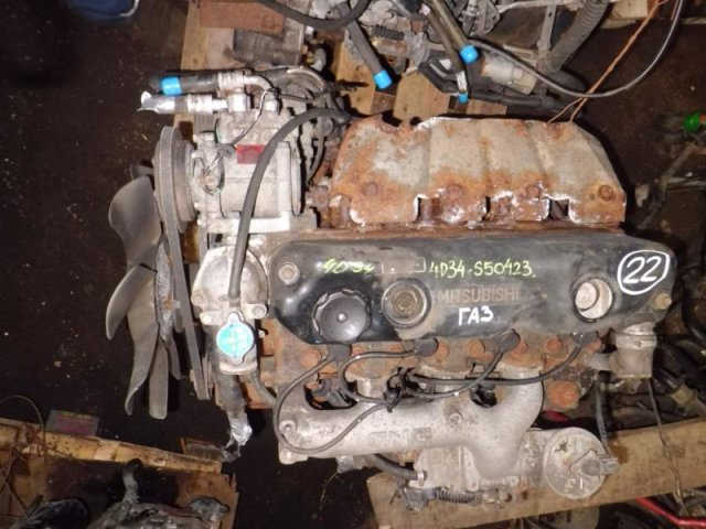 Двигатель на Mitsubishi Canter FE339 4D34 22