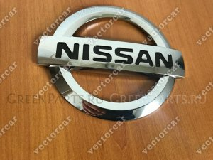 Эмблема на Nissan Bluebird Sylphy #G11