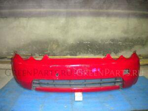 Бампер на Honda HR-V GH красный
