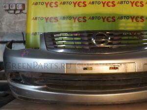 Бампер на Nissan Bluebird Sylphy G11 серебро