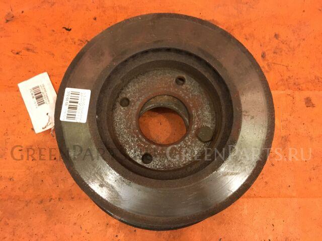 Тормозной диск на Nissan Wingroad WFY11, WHNY11, WHY11, WRY11