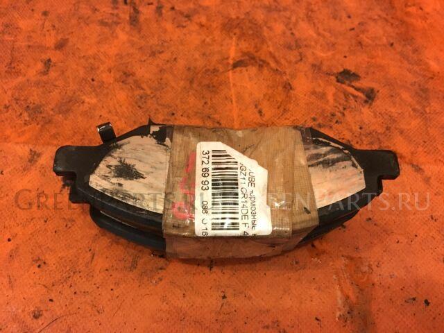 Тормозные колодки на Nissan Cube Cubic BGZ11 CR14DE