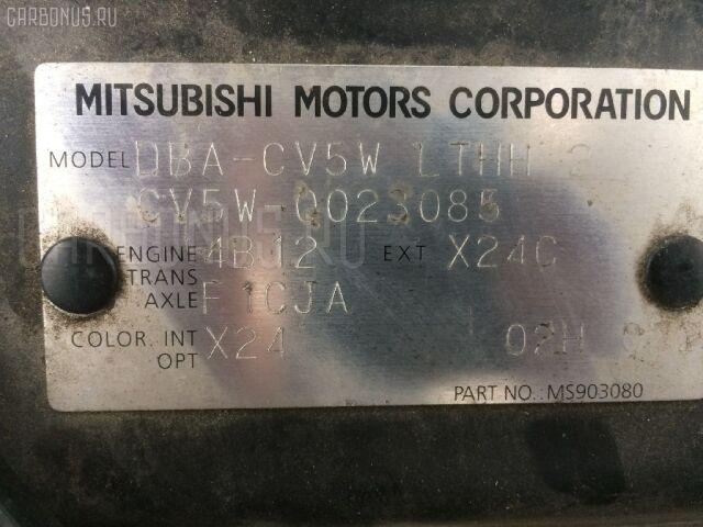 Рулевая колонка на Mitsubishi Delica D5 CV5W