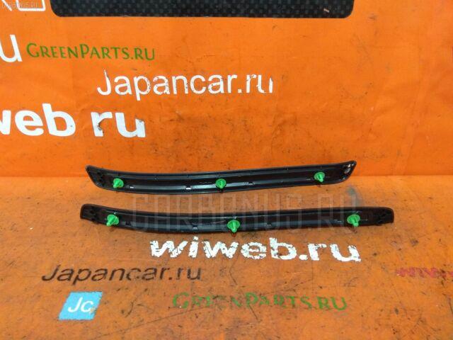 Накладка на порог салона на Toyota Progres JCG10