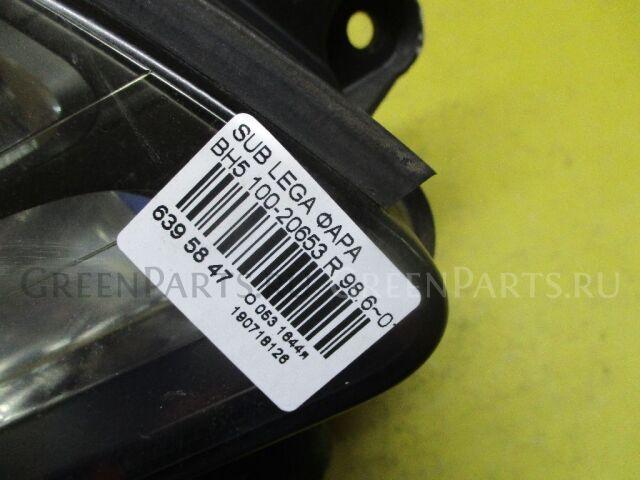 Фара на Subaru Legacy Wagon BH5 100-20653