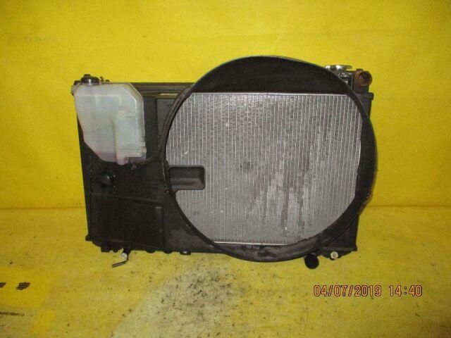 Радиатор двигателя на Toyota Mark II JZX110 1JZ-FSE