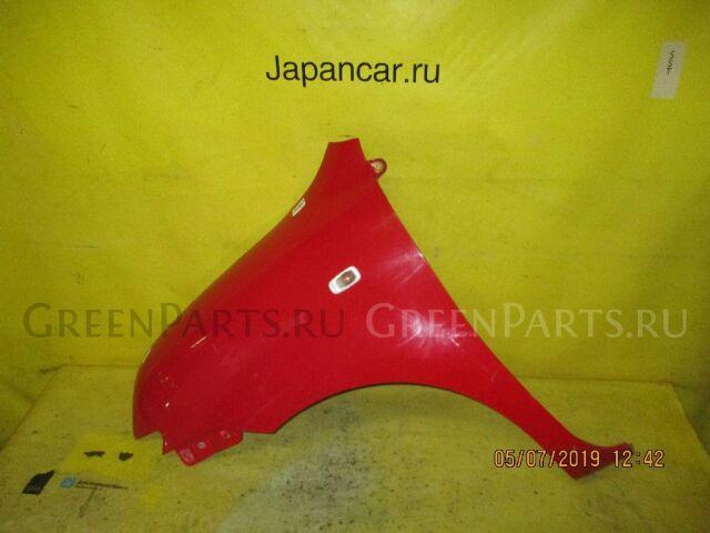 Крыло на Toyota Sienta NCP81G