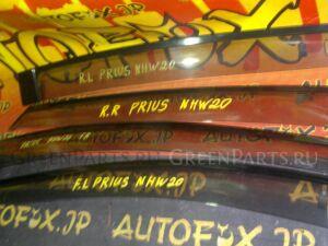 Ветровики комплект на Toyota Prius NHW20