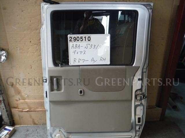 Дверь боковая на Subaru DIAS WAGON S331N KF-DET