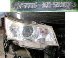 Фара на Suzuki Palette MK21S K6AT 100-59207