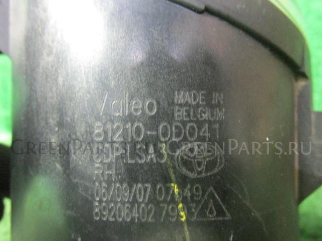 Туманка бамперная на Toyota MARK X GEO ANA10 2AZ-FE
