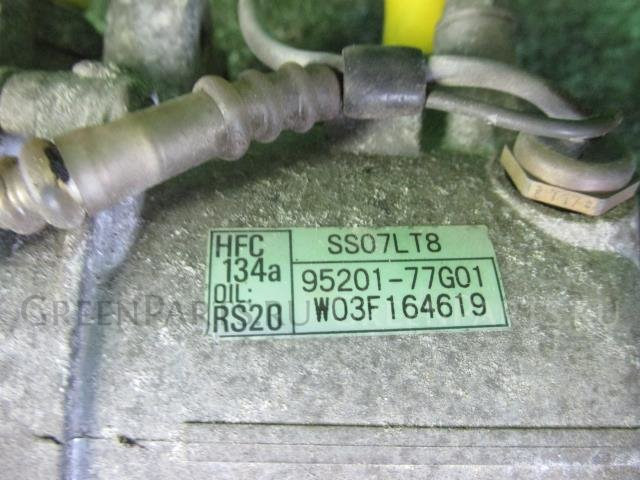 Компрессор кондиционера на Suzuki Mr Wagon MF21S K6A