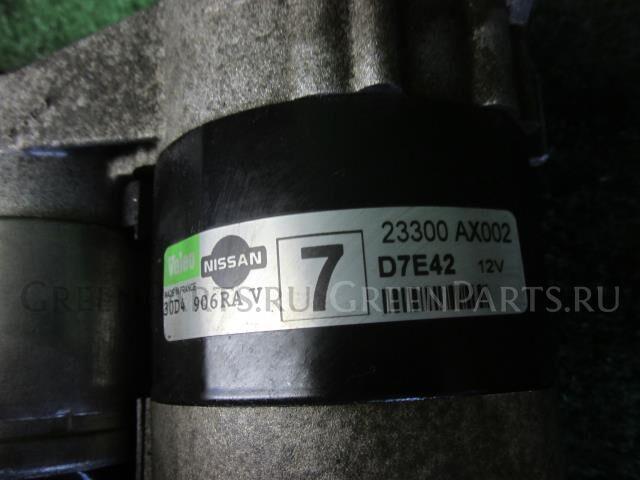 Стартер на Nissan Cube BGZ11 CR14DE