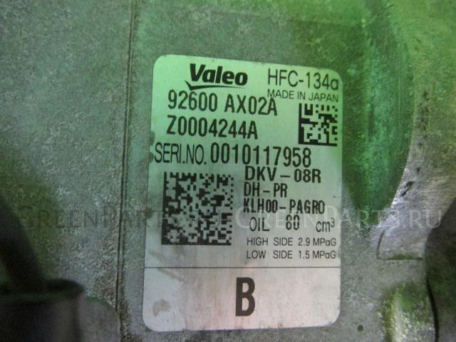 Компрессор кондиционера на Nissan March AK12 CR12DE