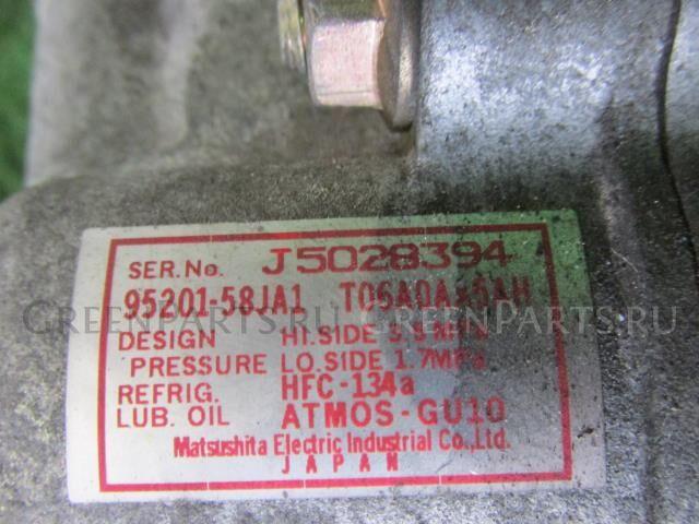 Компрессор кондиционера на Suzuki Wagon R MH21S K6A