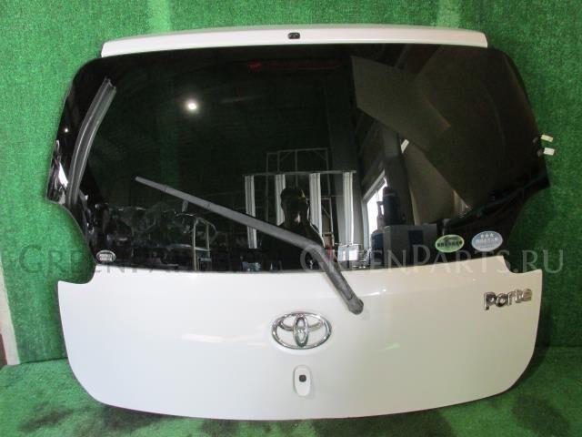 Дверь задняя на Toyota Porte NNP11 1NZ-FE