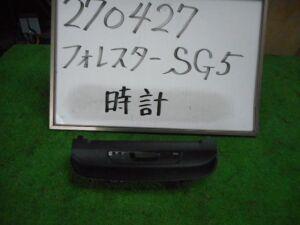 Часы на Subaru Forester SG5 EJ205