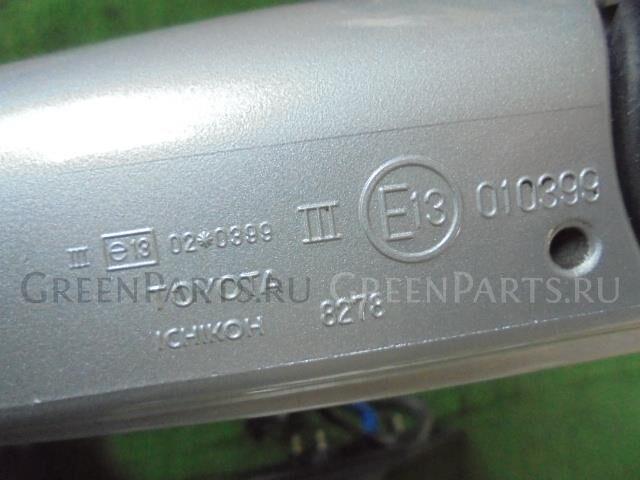 Зеркало двери боковой на Toyota Ist NCP60 2NZ-FE 8278