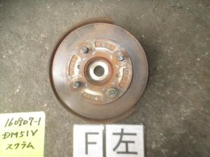 Ступица на Mazda Scrum DM51V F6A