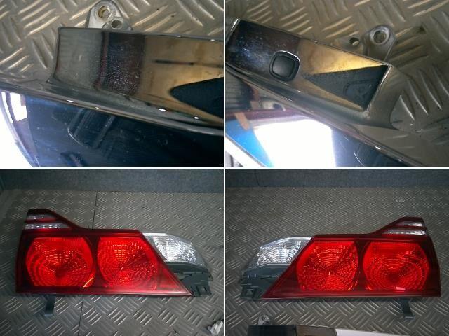 Стоп-планка на Toyota Alphard MNH10W 1MZ-FE