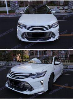 Накладки на передний бампер на Toyota Camry во Владивостоке